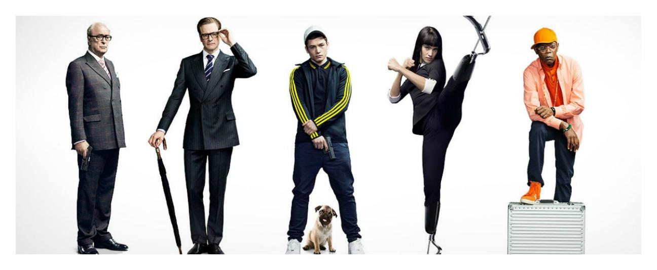 """Adaptação de quadrinhos, """"Kingsman"""" tem ação divertida e brinca de 007"""