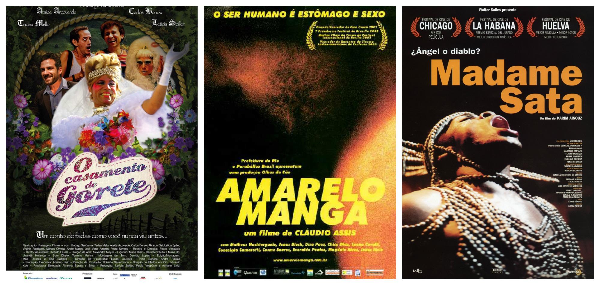 """Amarelo Manga 2002 califórnia"""" e """"madame satã"""" estão entre os filmes da semana"""